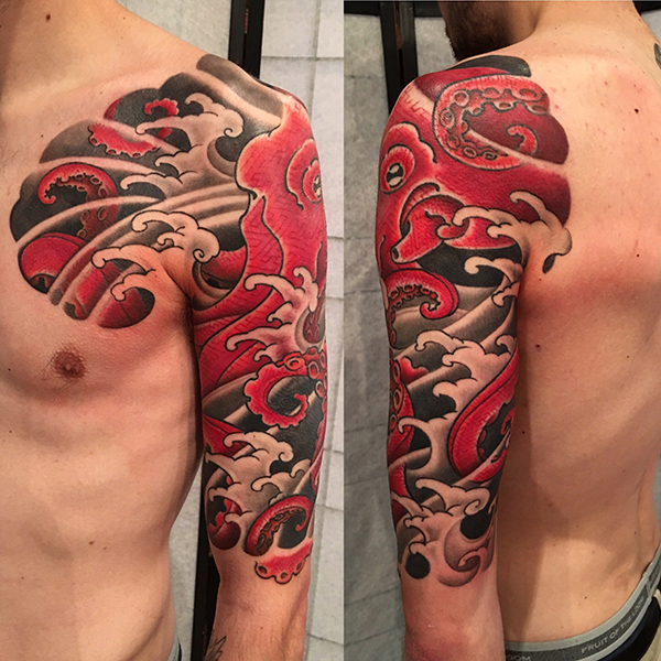 Japanese Sleeve Tattoo